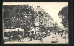 AK Paris, Le Boulevard des Italiens