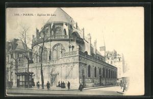 AK Paris, Eglise St-Leu