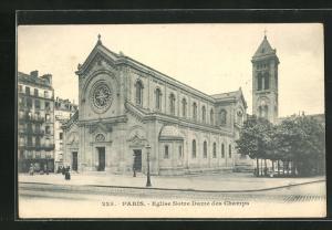 AK Paris, Eglise Notre-Dame des Champs