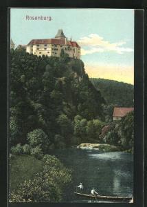 AK Rosenburg, Idyll mit Schloss