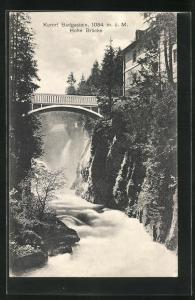 AK Badgastein, Hohe Brücke