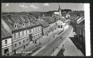 AK Bistrica, Strassenpartie aus der Vogelschau