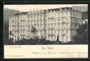 AK San Remo, West End Hotel