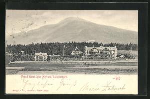 AK Igls, Grand Hotel Igler Hof und Patscherkofel