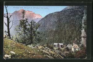 AK Weissbach, Gasthof zum Auvogel