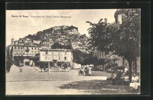 AK Rocca di Papa, Panorama da Piazza Regina Margherita