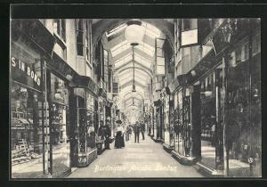 AK London, Burlington Arcade, view inside