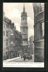 AK London, St. Magnus the Martyr Church, Thames Street