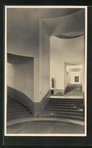 AK Rotterdam, Museum Boymans, Zentralhalle