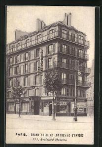 AK Paris, Grand Hotel de Londres et d`Anvers