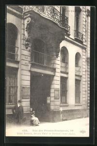 AK Paris, Hotel Romery, Rue des Francs-Bourgeois 56