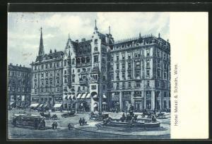 AK Wien, Hotel Meissl & Schadn