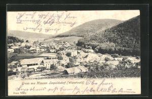 AK Klausen-Leopoldsdorf, Blick auf den Ort im Wienerwald