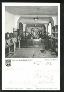 AK Wien, Gasthaus Wiener Rathauskeller, Volkskeller-Schank