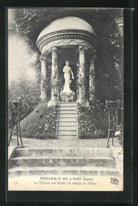 AK Roseraie de l`Hay, Le Theatre des Roses, Le temple de Venus