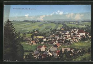 AK Offenhausen, Blick auf den Ort und ins Land
