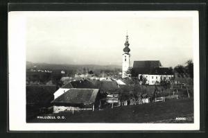 AK Waldzell, Kirche im Ortsbild
