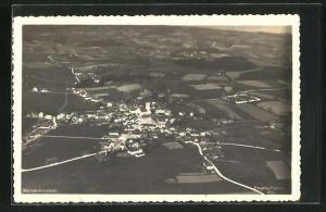 AK Waizenkirchen, Fliegeraufnahme des Dorfes