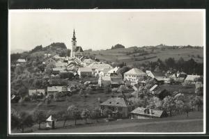 AK Gramastetten, Panoramablick auf die Ortschaft