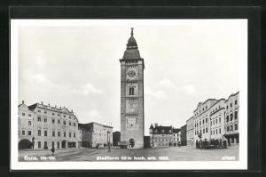 AK Enns, Blick auf den Stadtturm