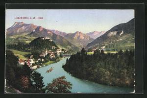 AK Losenstein a. d. Enns, Gesamtansicht mit Umgebung