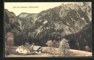 AK Tirol, Partie am Ortsrand