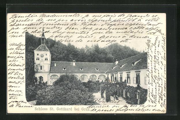 AK Graz, Schloss St. Gotthard 0