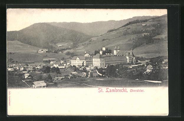 AK St. Lambrecht, Ortsansicht 0