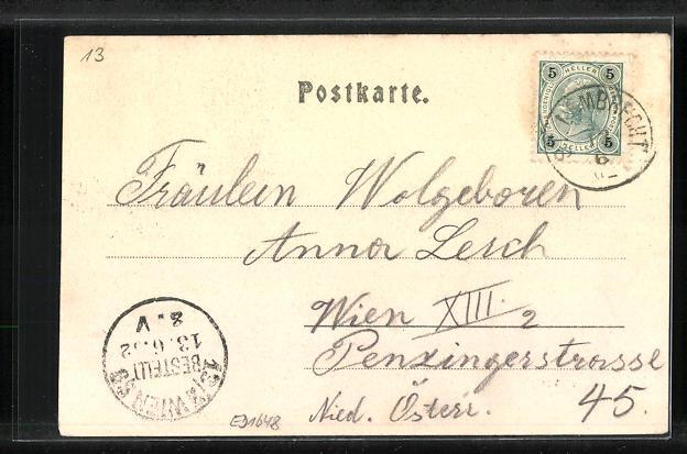 AK St. Lambrecht, Ortsansicht 1