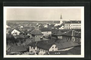 AK Fürstenfeld, Ortsansicht mit Kirche