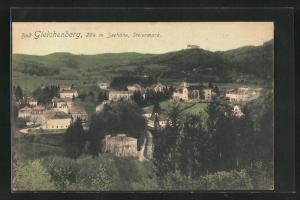 AK Bad Gleichenberg, Ortsansicht aus der Vogelschau
