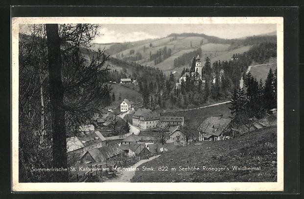 AK St. Kathrein am Hauenstein, Rosegger` s Waldheimat 0