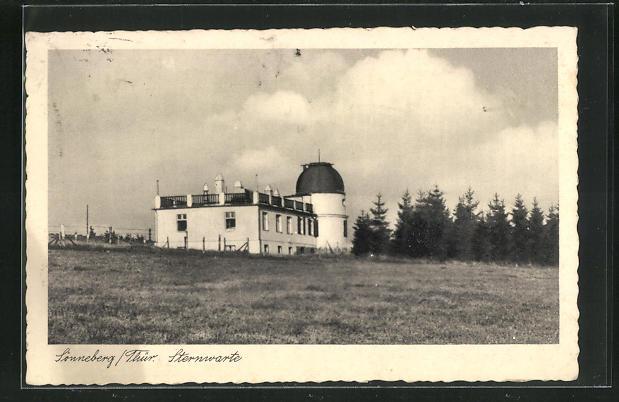 AK Sonneberg / Thür., Sternwarte 0