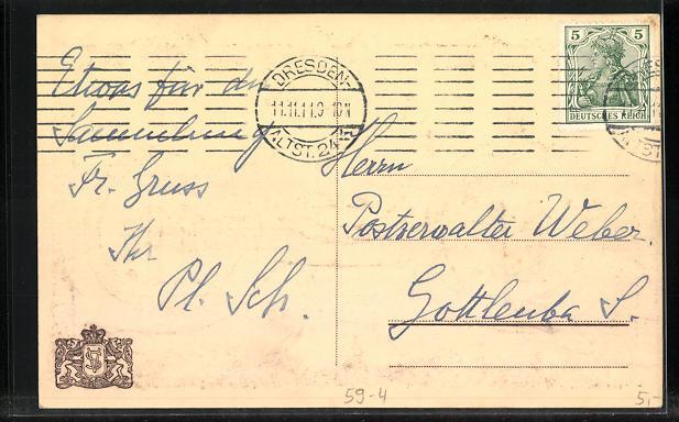 AK Kränze mit dem besonderen Datum 11.11.11 1