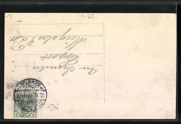 AK Datum 12.12.12, Will man schreiben wieder solche Karten muss man 100 Jahre warten! 1