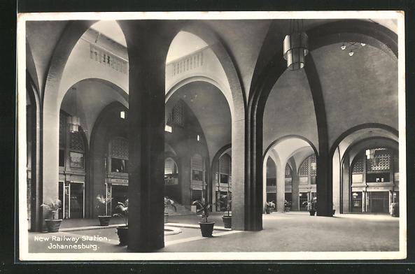 AK Johannesburg, New Railway Station, Bahnhof 0