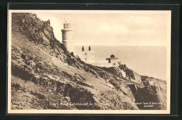 AK Torcross, Start point lighthouse, Leuchtturm 0