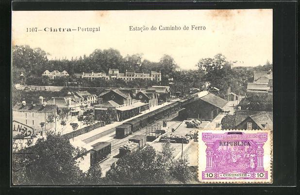 AK Cintra, Estacao do caminho de Ferro, Bahnhof 0