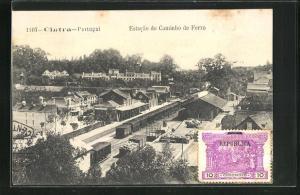 AK Cintra, Estacao do caminho de Ferro, Bahnhof