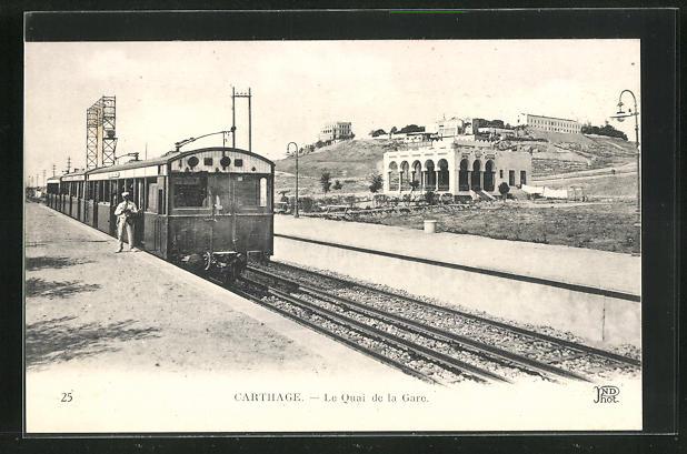 AK Carthage, Le Quai de la Gare 0