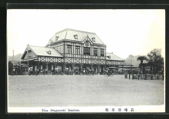 AK Nagasaki, Bahnhof 0