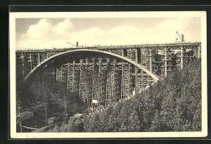 AK Teufelstal, Grösste Eisenbetonbogenbrücke Deutschlands