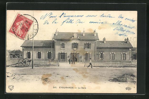 AK Eygurande, La Gare 0