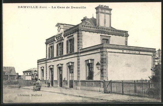 AK Damville, La Gare 0