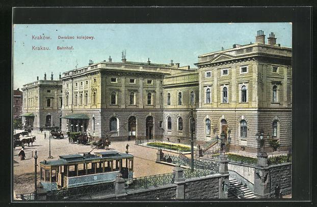 AK Krakau, Bahnhof 0