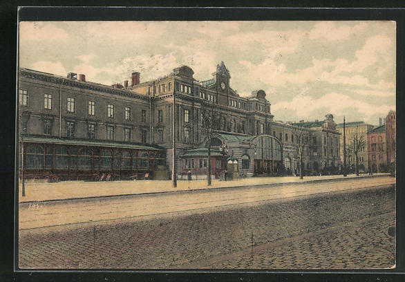 AK Stockholm, Centralstationen, Bahnhof 0