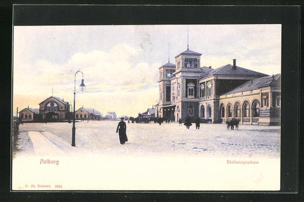 AK Aalborg, Stationspladsen, Bahnhof 0