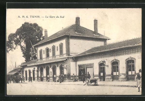 AK Tunis, La Gare du Sud 0