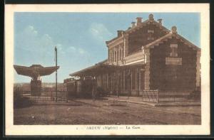 AK Arzew, La Gare