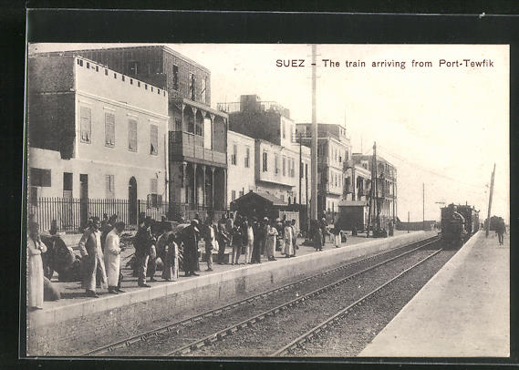 AK Suez, The train arriving from Port-Tewfik 0